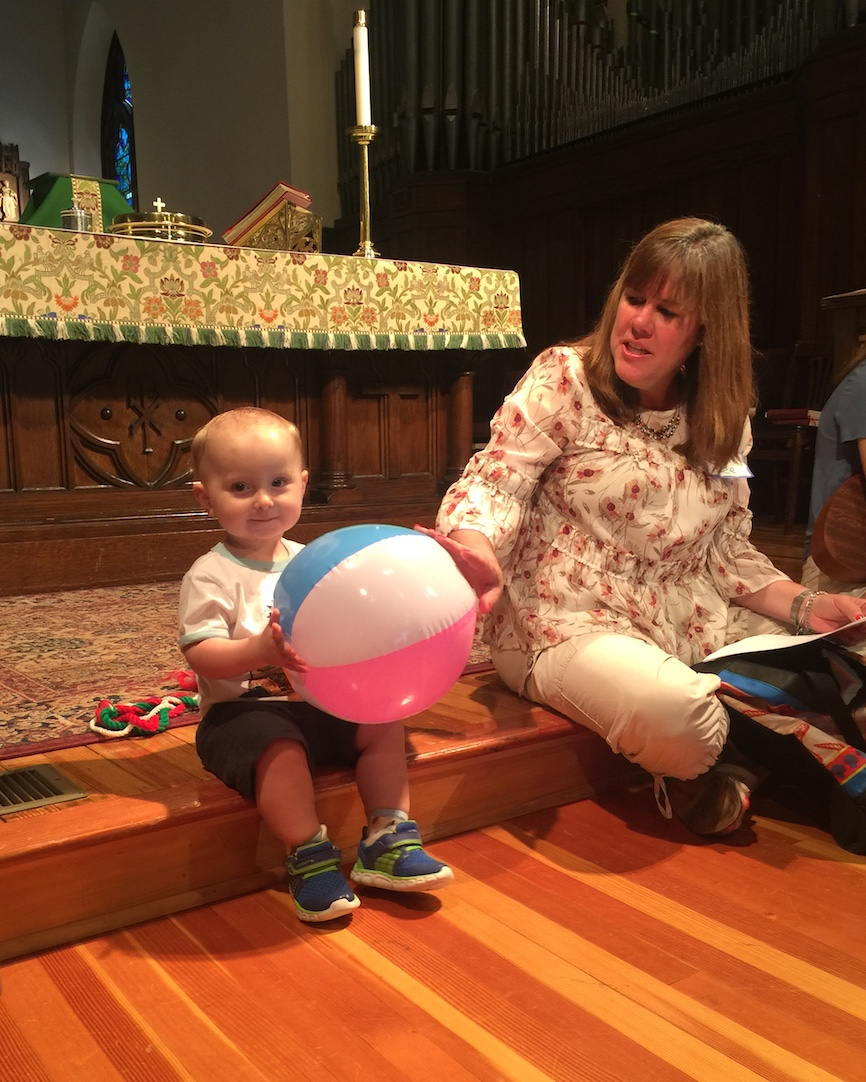Children's Service at Christ Church